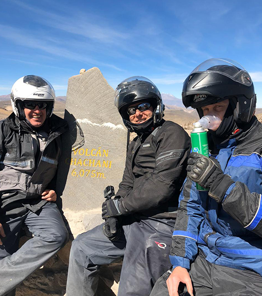 volcan chachani moto tour